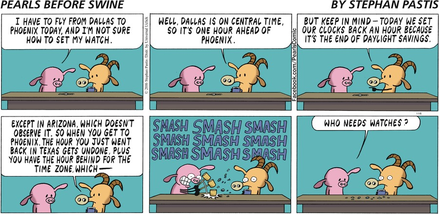 Pearls Before Swine Comic Strip for November 06, 2016