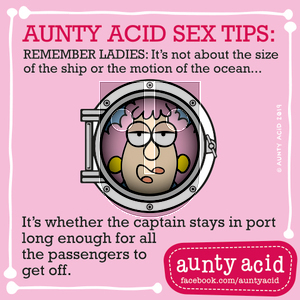 Aunty Acid on Monday September 16, 2019 Comic Strip
