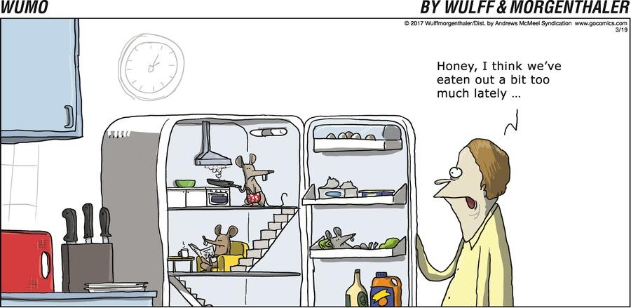 WuMo for Mar 19, 2017 Comic Strip