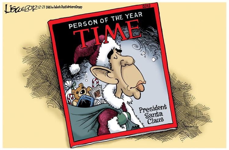 Lisa Benson Comic Strip for December 21, 2012