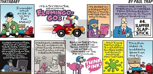 Thatababy on Sunday March 4, 2018 Comic Strip