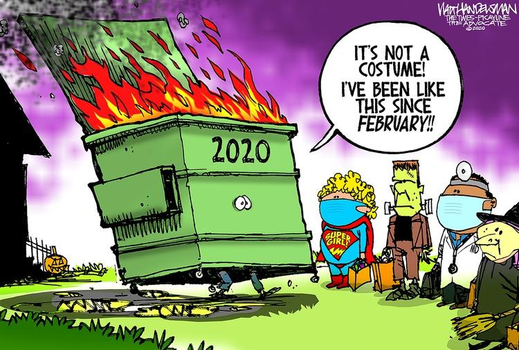 Walt Handelsman Comic Strip for October 25, 2020