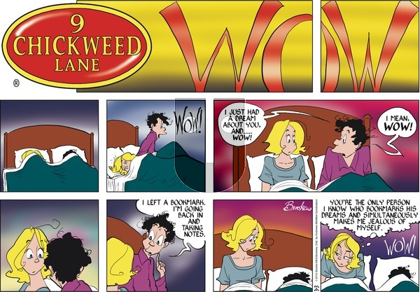9 Chickweed Lane on Sunday March 3, 2019 Comic Strip