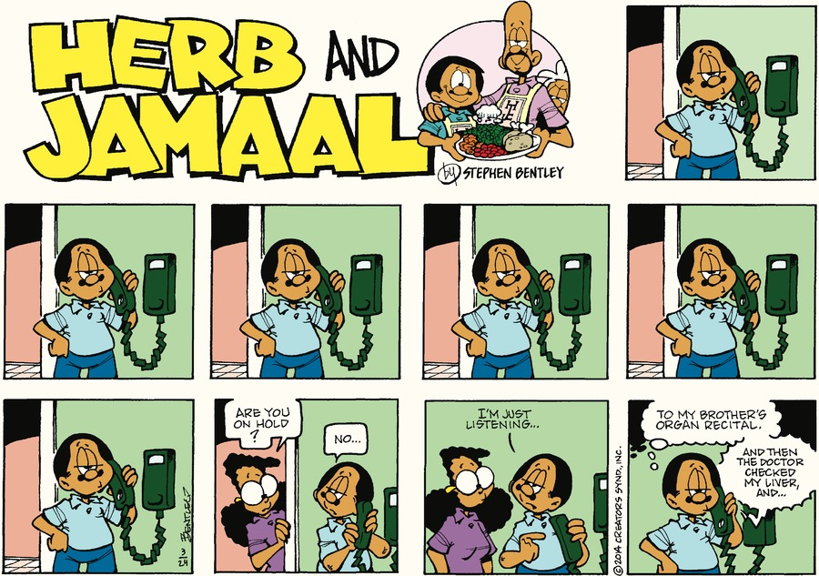Herb and Jamaal by Stephen Bentley for March 24, 2019