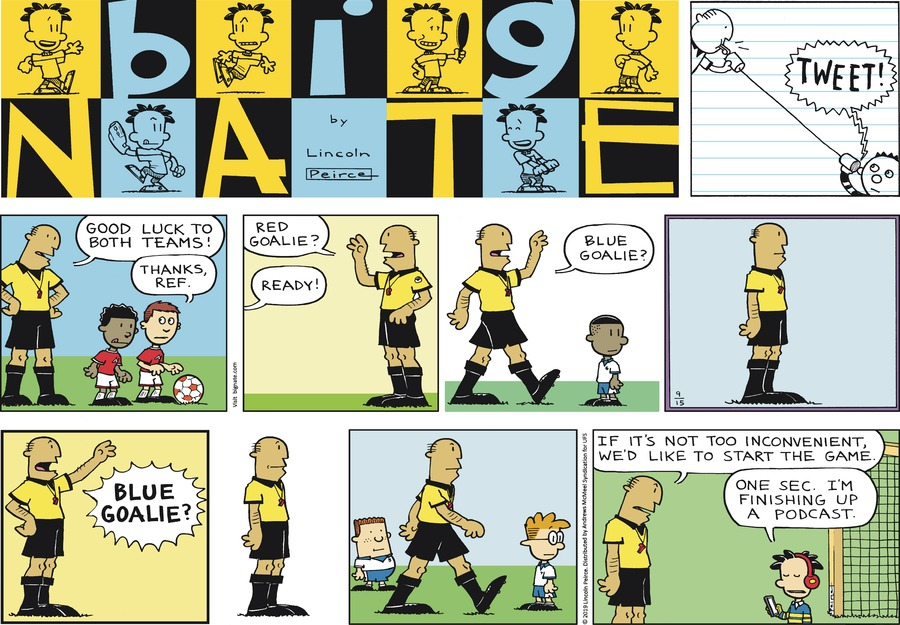Big Nate by Lincoln Peirce for September 15, 2019