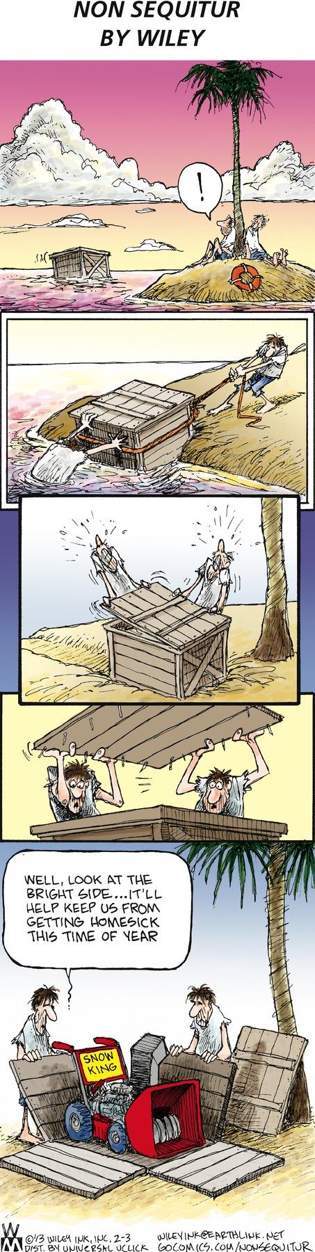 Non Sequitur Comic Strip for February 03, 2013