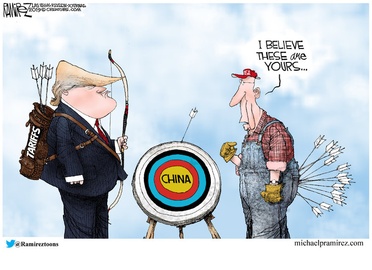 Michael Ramirez Comic Strip for May 16, 2019
