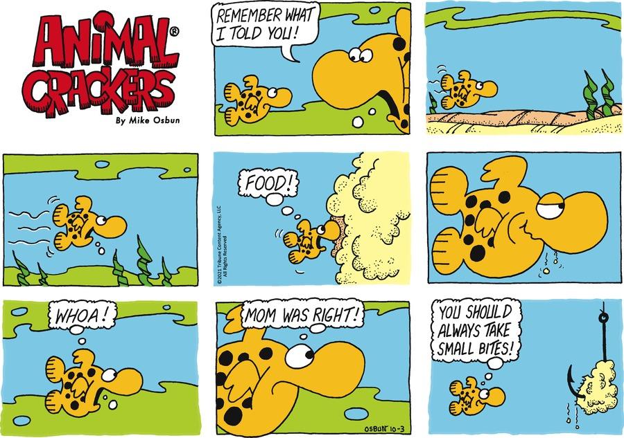 Animal Crackers by Mike Osbun on Sun, 03 Oct 2021