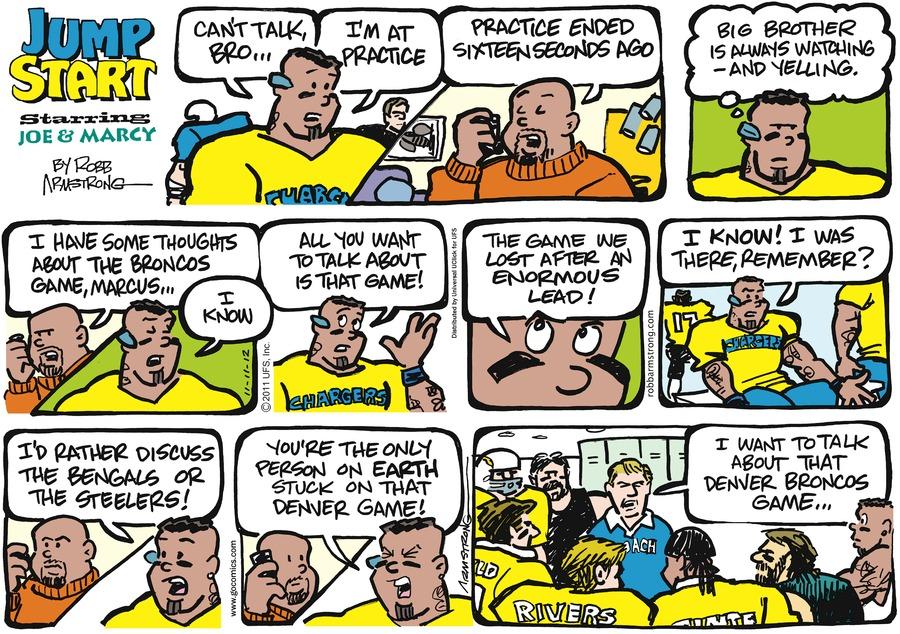 JumpStart for Nov 11, 2012 Comic Strip