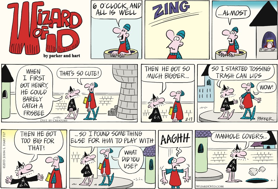 Wizard of Id Comic Strip for February 17, 2013