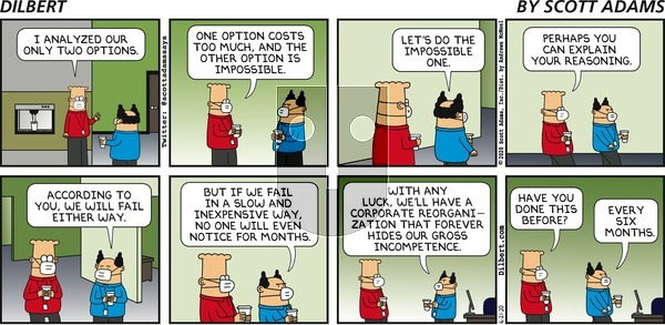 Dilbert on Sunday June 21, 2020 Comic Strip