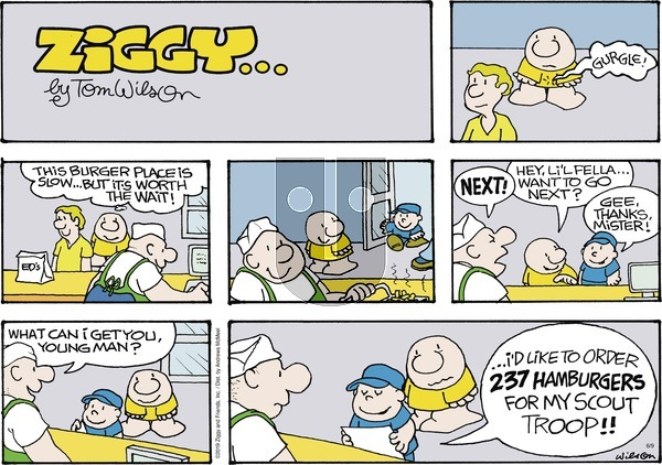 Ziggy on Sunday June 9, 2019 Comic Strip