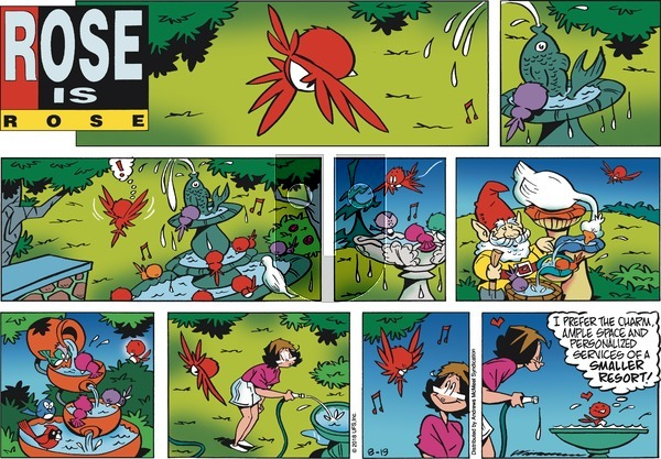 Rose is Rose on Sunday August 19, 2018 Comic Strip