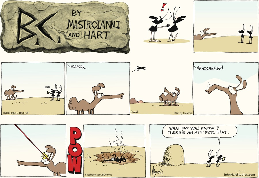 B.C. for Sep 22, 2013 Comic Strip