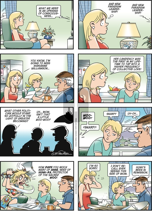Doonesbury on Sunday September 8, 2019 Comic Strip