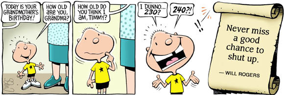 Brain Squirts Comic Strip for October 07, 2019