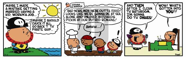 Pirate Mike on November 30, 2018 Comic Strip