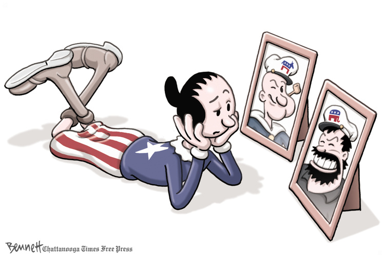 Clay Bennett for Oct 29, 2012 Comic Strip