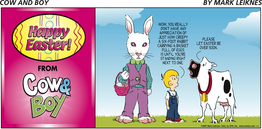 Cow and Boy Classics Comic Strip for May 20, 2021