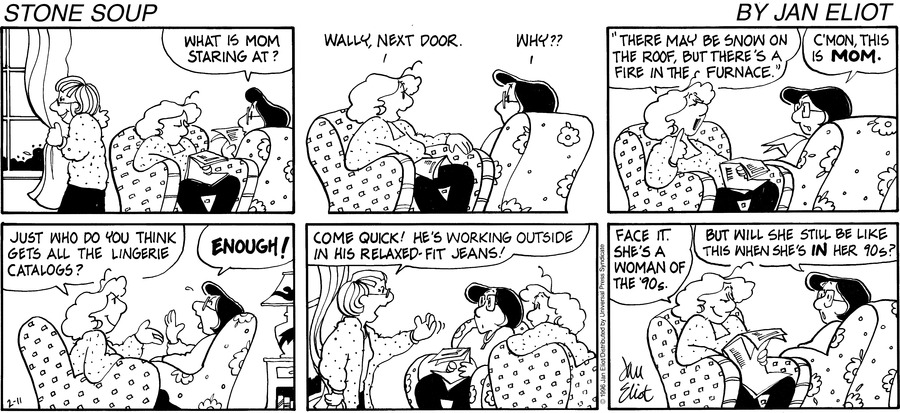 Stone Soup for Feb 11, 1996 Comic Strip
