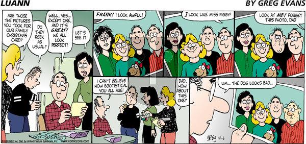 Luann - Sunday December 6, 1998 Comic Strip