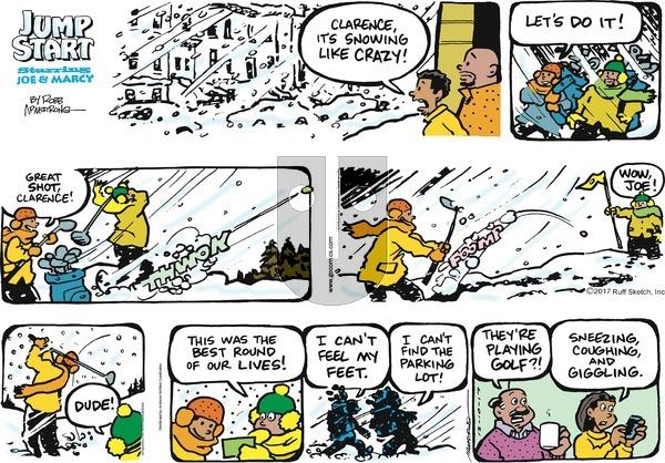 JumpStart on Sunday December 10, 2017 Comic Strip