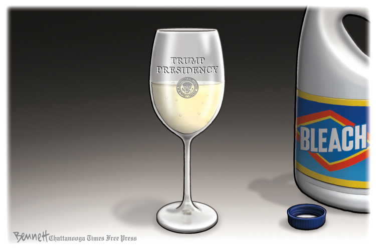 Clay Bennett Comic Strip for April 29, 2020