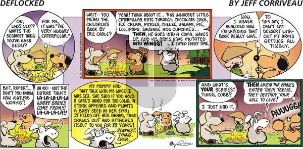 DeFlocked on Sunday August 12, 2012 Comic Strip