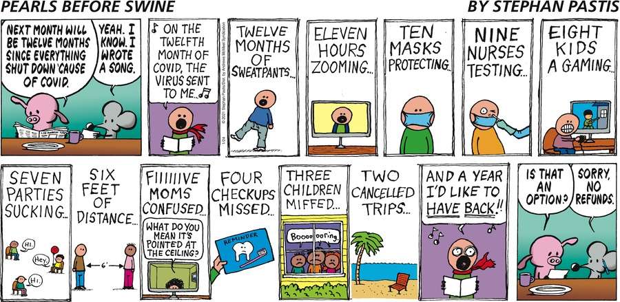 Pearls Before Swine Comic Strip for January 24, 2021