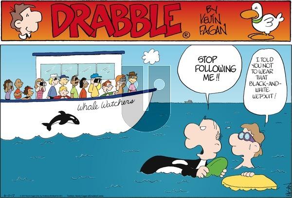 Drabble on Sunday June 11, 2017 Comic Strip
