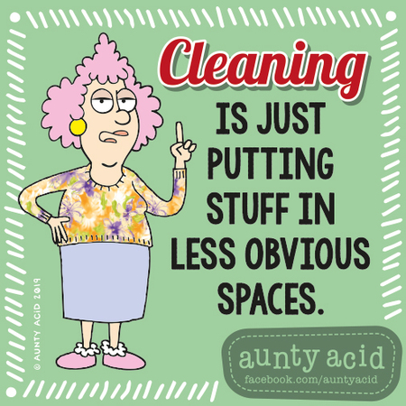 Aunty Acid by Ged Backland for September 14, 2019