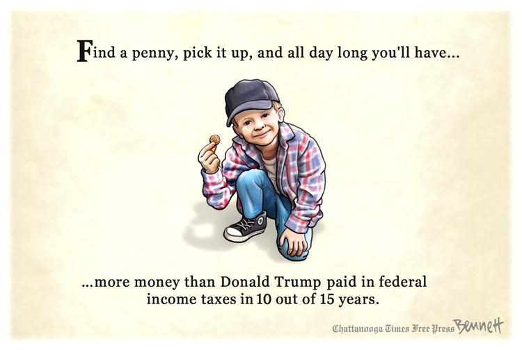 Clay Bennett by Clay Bennett on Tue, 29 Sep 2020