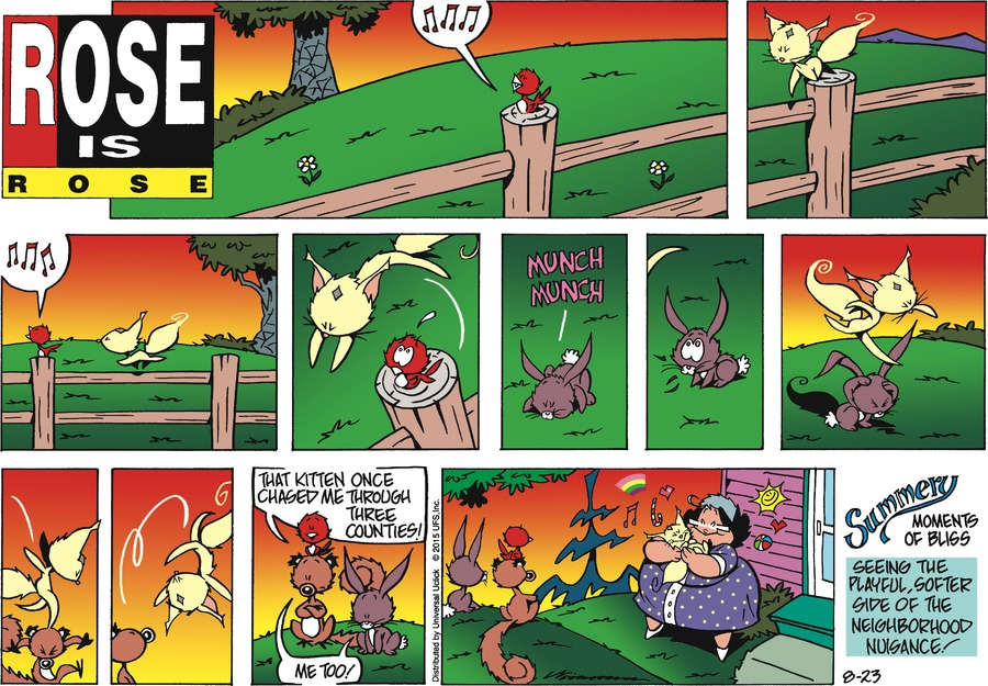 Rose is Rose Comic Strip for August 23, 2015