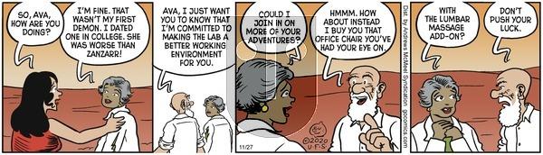 Alley Oop - Friday November 27, 2020 Comic Strip