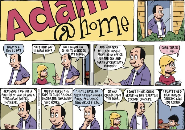 Adam@Home on Sunday March 27, 2016 Comic Strip
