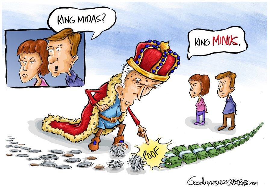 Al Goodwyn Editorial Cartoons Comic Strip for May 18, 2021