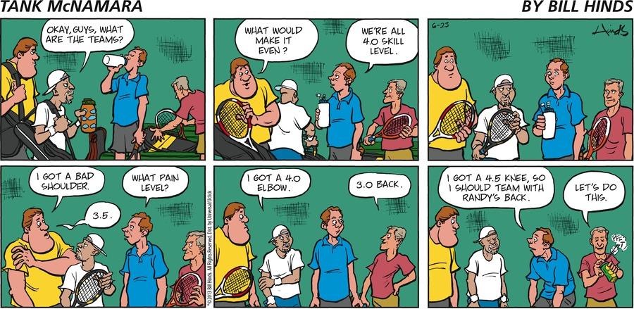 Tank McNamara for Jun 23, 2013 Comic Strip
