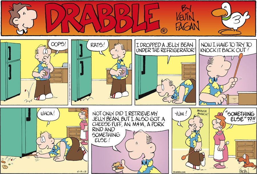 Drabble for May 19, 2013 Comic Strip