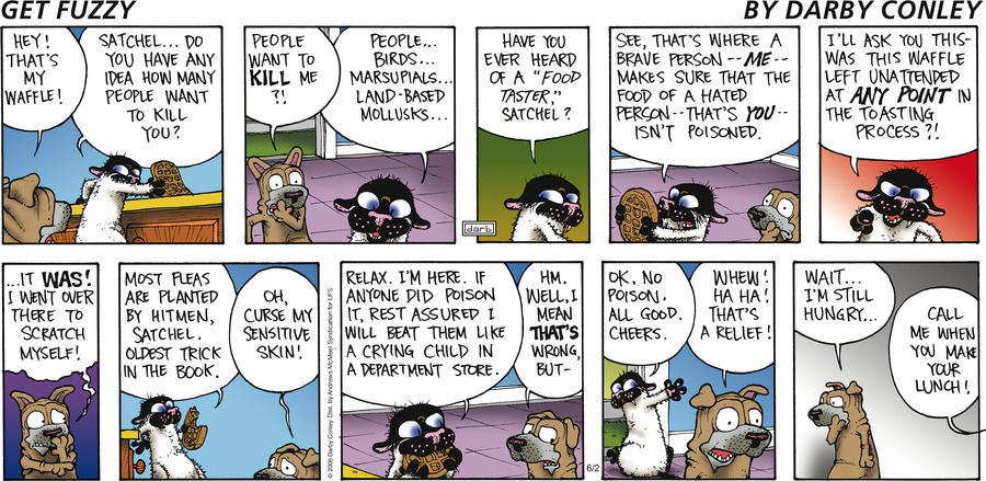 Get Fuzzy Comic Strip for June 02, 2019
