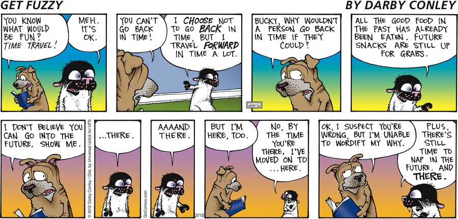 Get Fuzzy Comic Strip for March 18, 2012