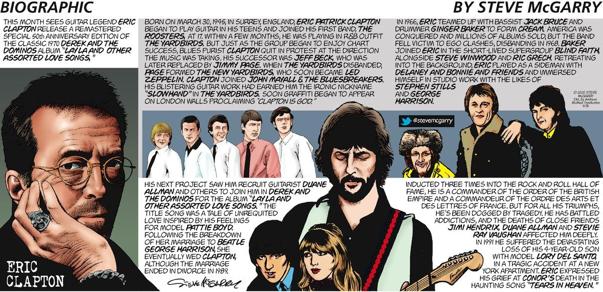 Biographic Comic Strip for November 15, 2020