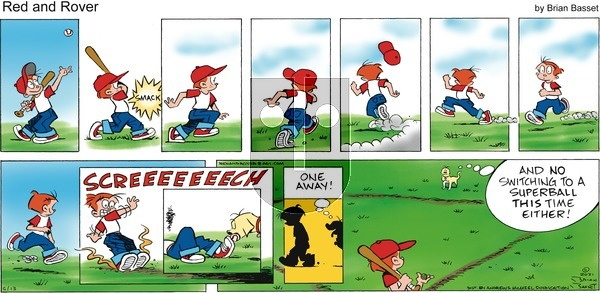 Red and Rover on Sunday June 13, 2021 Comic Strip