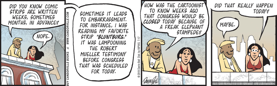 Candorville Comic Strip for July 17, 2019