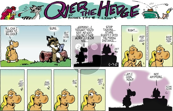 Over the Hedge on Sunday May 30, 2021 Comic Strip