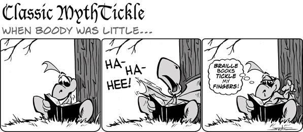 MythTickle for Jul 15, 2013 Comic Strip