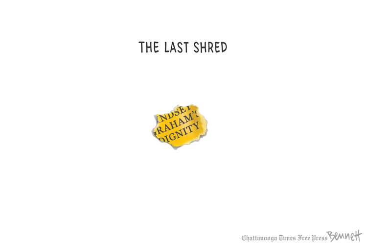 Clay Bennett by Clay Bennett for March 22, 2019