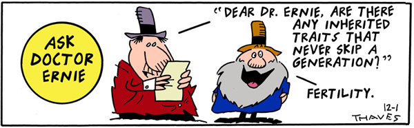Frank and Ernest for Dec 1, 2000 Comic Strip
