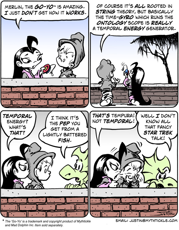 MythTickle Comic Strip for August 18, 2008