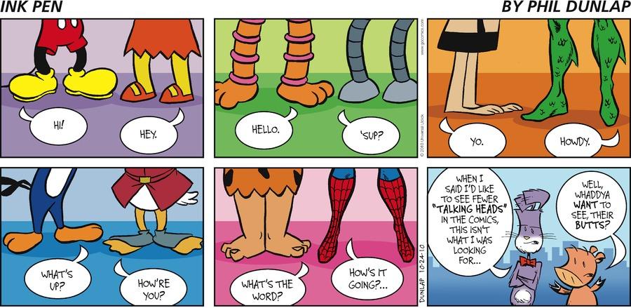 Ink Pen Comic Strip for October 24, 2010