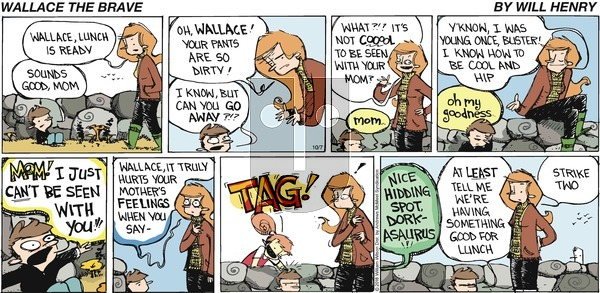 Wallace the Brave on Sunday October 7, 2018 Comic Strip